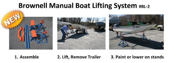 Manual Boat Lifting System Brownell Boat Stands Inc