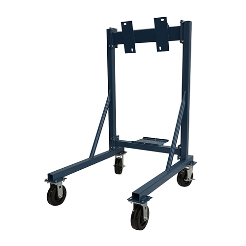 Large outboard rack dolly brownell boat stands inc for Large outboard motor stand