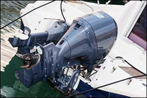 Outboard Motor Storage