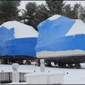 How to Shrink-Wrap and Winterize Your Boat Using Boat Stands