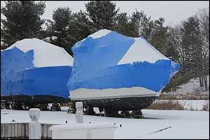 Boat Stands and Shrink Wrap Solutions