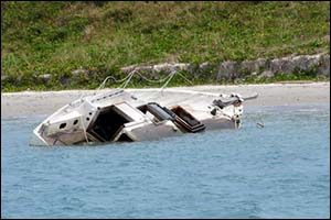 Hurricane Damage to Boats