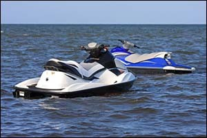 Personal watercraft dollies
