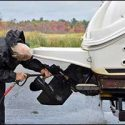 How to Use Engine Handling Products and Stands for Motorboats