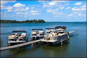 pontoon dollies and boat stands